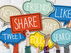 Vorsicht bei der Nutzung sozialer Medien!