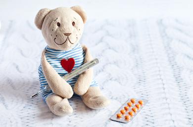 Behandlung von Fieber bei Kindern
